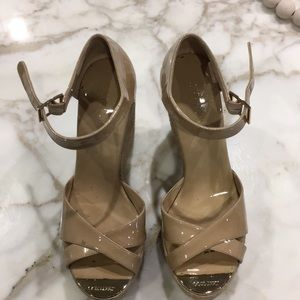 Jimmy Choo wedge sandals size 9
